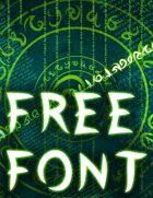 Nakaryon's Gifts Font Free