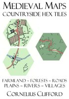 Medieval Maps - Countryside Hex Tiles Pack