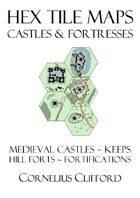 Hex Tile Maps - Castles and Fortresses Pack
