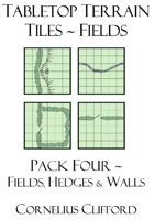 Tabletop Terrain Tiles - Fields & Hedges