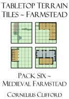 Tabletop Terrain Tiles - Medieval Farmstead