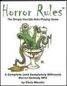 Horror Rules, The Simply Horrible Role-Playing Game