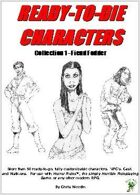 Horror Rules Ready-To-Die Characters Collection 1 - Fiend Fodder
