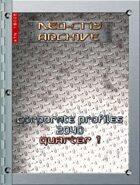 Neo-City Archives: Corporate Profiles 2040, Q1