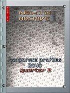 Neo-City Archives: Corporate Profiles 2040, Q2