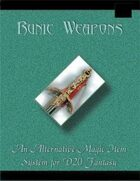 Runic Weapons