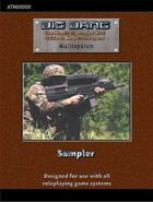 Big Bang: RPG Guide to Firearms Sampler