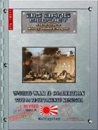 Big Bang Ricochet - WW2 Collection: Type 94 Te-Ke Tokushu Keninsha