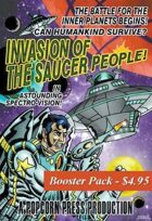 Invasion of the Saucer People! - Booster Pack