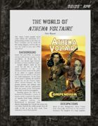 D6xD6 RPG Athena Voltaire World Setting
