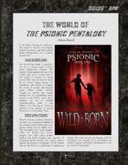D6xD6 RPG Psionic Pentalogy World Setting