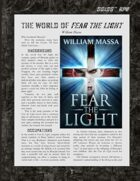 D6xD6 RPG Fear the Light World Setting