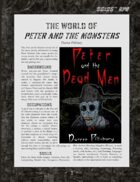 D6xD6 RPG Peter and the Monsters World Setting