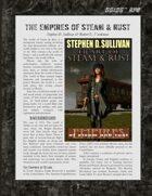 D6xD6 RPG Empires of Steam & Rust World Setting