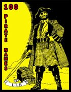 100 Pirate Names