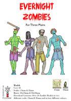 Zombies for Three Plains by PrintandPlayFantasy.com