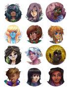 Costume Fairy Adventures - Portrait Pack #1