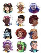 Costume Fairy Adventures - Portrait Pack #3