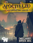 APOCTHULHU Quickstart Rules [softcover]