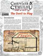 Convicts & Cthulhu: Ticket of Leave #16 OC