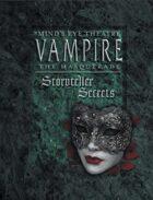 Mind\'s Eye Theatre: Vampire The Masquerade Storyteller Secrets