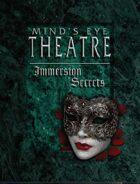 Mind's Eye Theatre: Immersion Secrets
