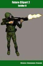 Future Clipart 2 - Soldier B