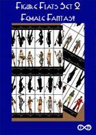 Figure Flats Set 2 - Female Fantasy
