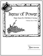 Items of Power Trilogy [BUNDLE]