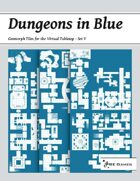 Dungeons in Blue - Set V