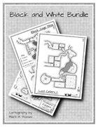 Black and White Maps [BUNDLE]