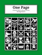 One Page Pack #5 [BUNDLE]