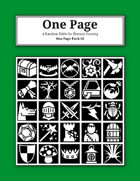 One Page Pack #6 [BUNDLE]