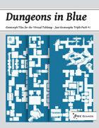 Dungeons in Blue - Just Geomorphs Triple Pack #1 [BUNDLE]