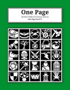 One Page Pack #7 [BUNDLE]