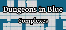 Dungeons in Blue Complexes