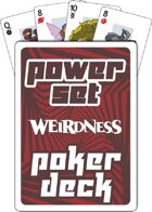 Supers Power Set Poker Deck (Red)