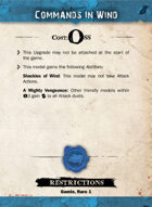 Commands in Wind