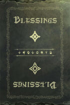 DCR Expansion - Blessing Cards