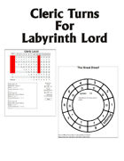 Cleric Turns For Labyrinth Lord