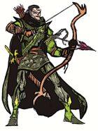 Fantasy Stock Art (Wild Elf Archer)