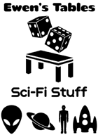 Ewen's Tables: Sci-Fi Stuff