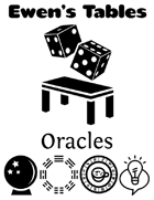 Ewen's Tables: Oracles