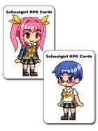 Schoolgirl RPG Cards