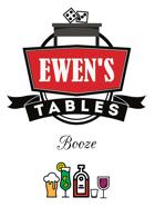 Ewen's Tables: Booze