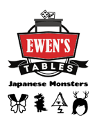 Ewen's Tables: Japanese Monsters