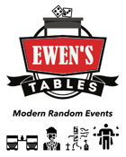 Ewen's Tables: Modern Random Events