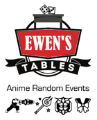 Ewen's Tables: Anime Random Events