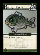 Babel Fish - Custom Card