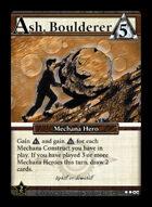 Ash, Boulderer - Custom Card